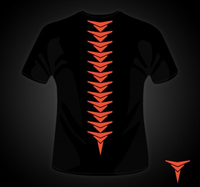 Trifecta Spine Tee